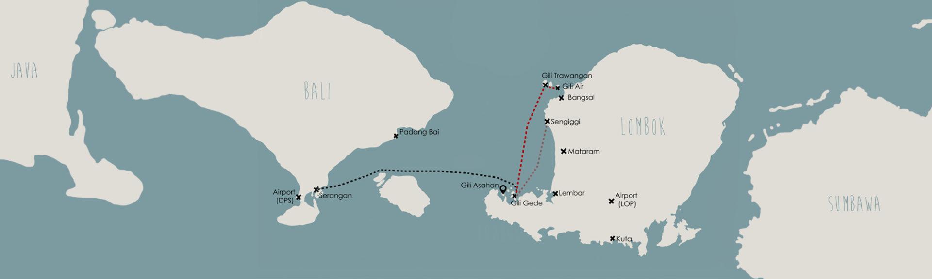 Gili Getaway Fast Boat Lombok Bali Gili Asahan