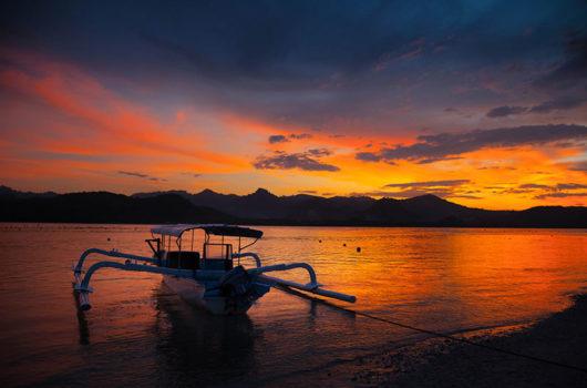 Sunset Gili Asahan Lombok