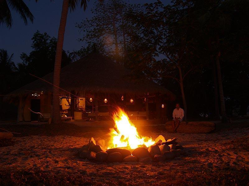 Gili Asahan Bonfire Activities Lombok