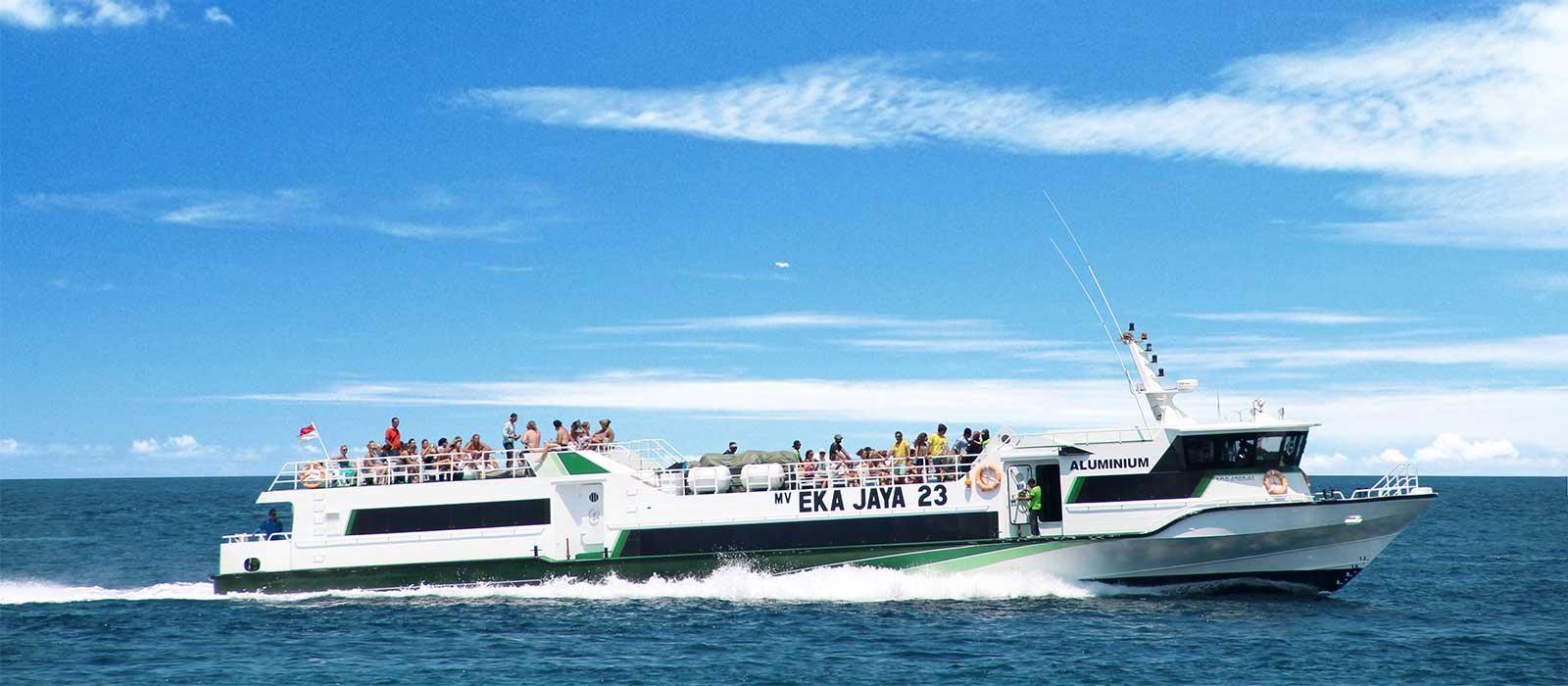 Ekajaya Fastboat Serangan Lembar